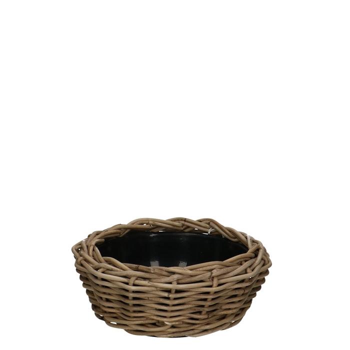<h4>Baskets Rattan Drydish d30*14cm</h4>