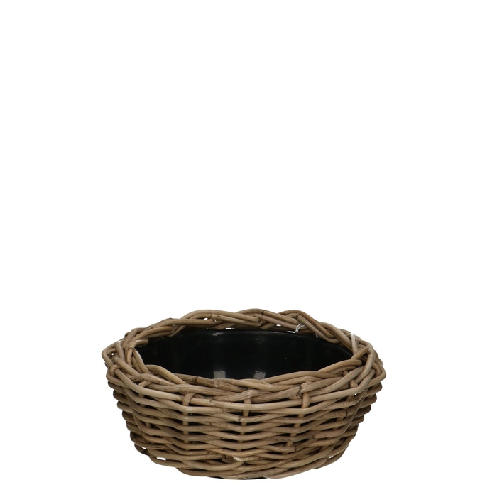 <h4>Baskets Rattan Drydish d30*14cm</h4>