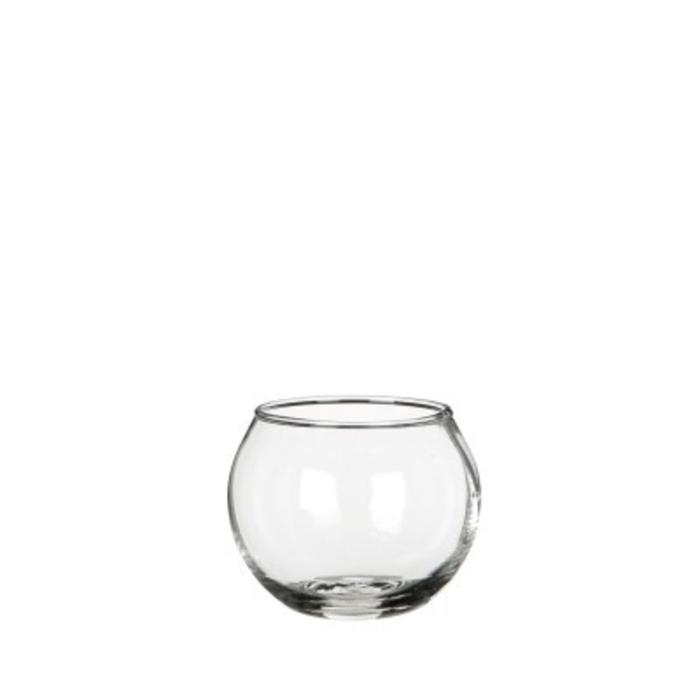 <h4>Glas Kogelvaas d07/5*5cm</h4>