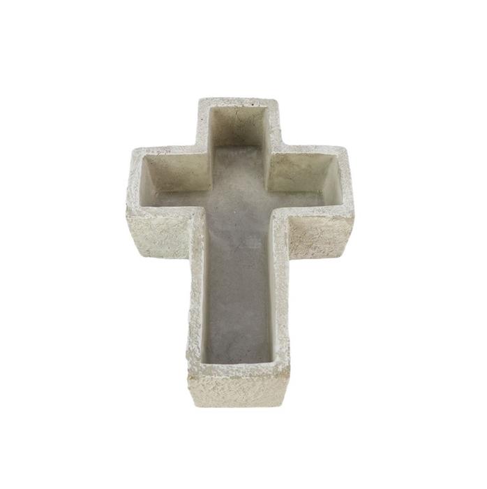 <h4>All Saints Pot cross d21.5*15*5cm</h4>