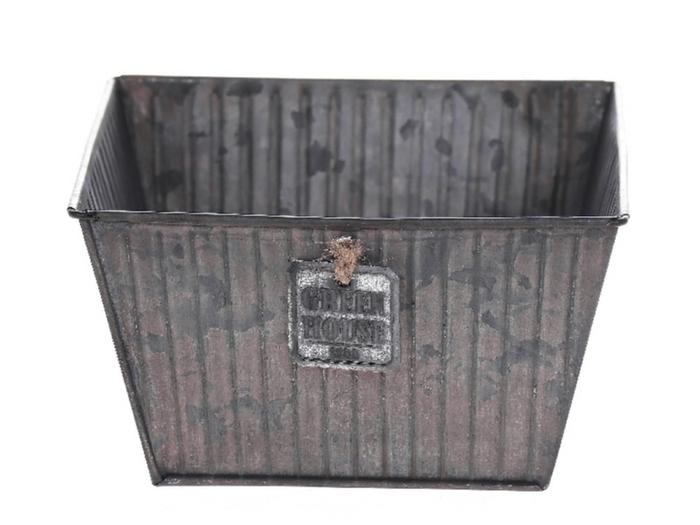 <h4>DF500063500 - Planter Tinco 20x20x9 grey</h4>