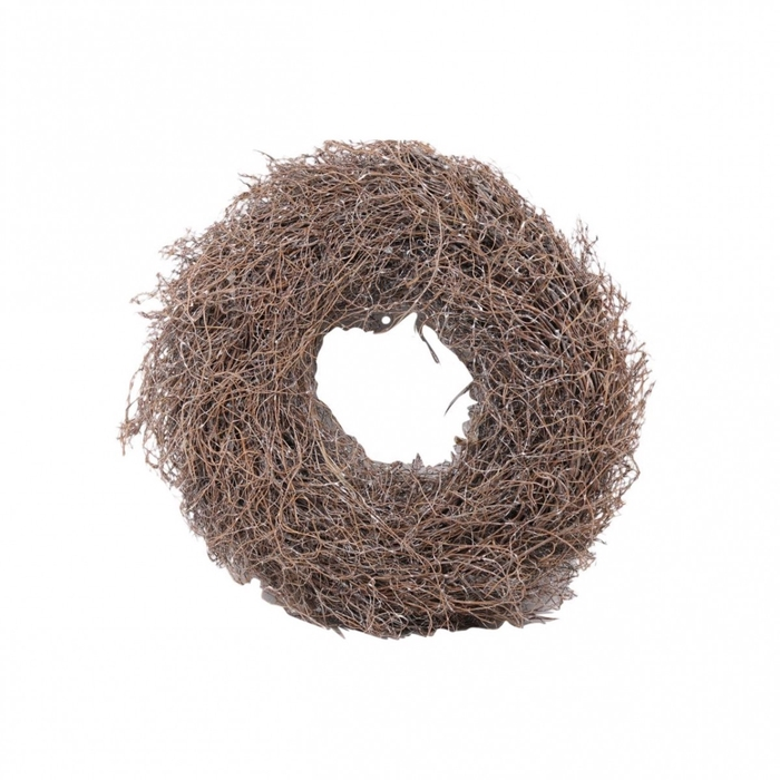 <h4>Wreath d38cm Fern root frosted</h4>