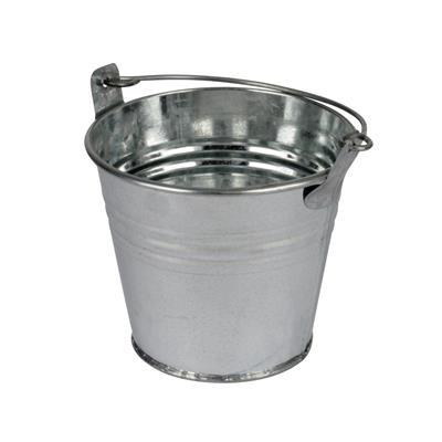 <h4>Bucket Sevilla zinc Ø8,2xH7,2cm - ES7 natural</h4>