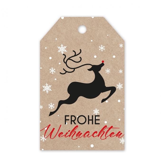 <h4>Christmas Displ.Card D Frohe 5*8cm x20</h4>