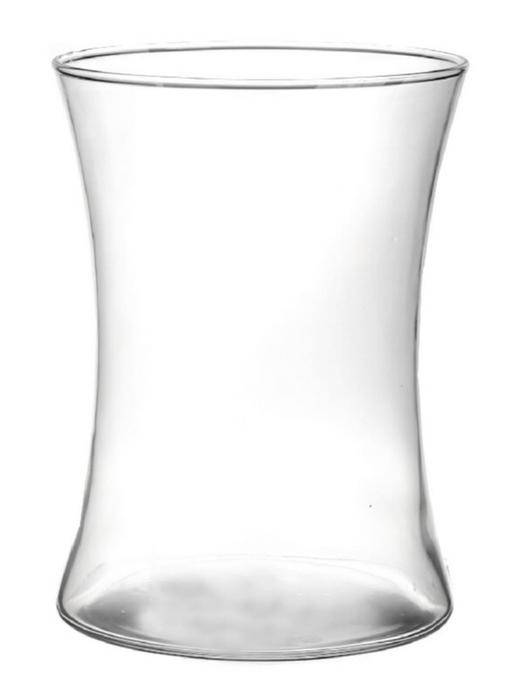 <h4>DF883569300 - Vase Otis d14xh19 clear</h4>