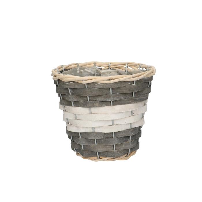 <h4>Baskets Fleur pot d16*14cm</h4>