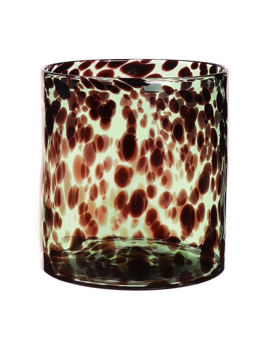 <h4>DF663480400 - Candleholder Jane d17.5xh18.8 green</h4>