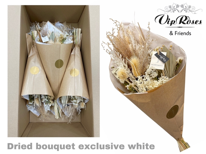 <h4>DRIED BOUQUET EXCLUSIVE WHITE</h4>