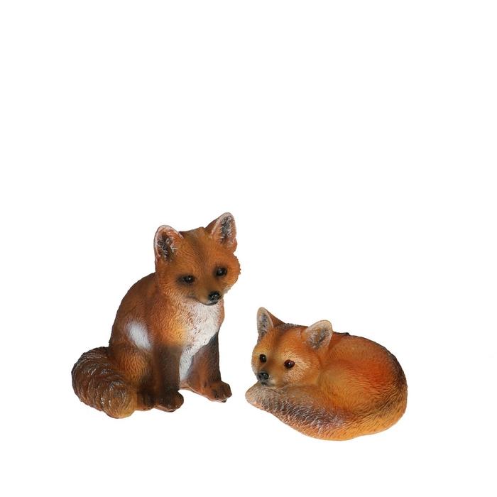 <h4>Autumn Fox 7*9*12cm ass.</h4>