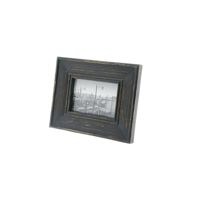<h4>Photo Frame Wood 25x30cm Black</h4>