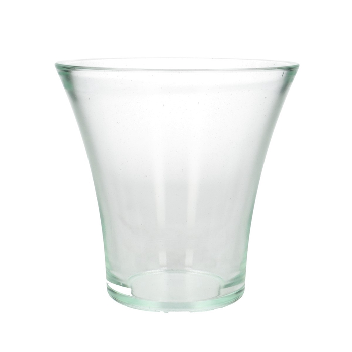 <h4>Glass Bouquetvase Rosy d17*17cm</h4>
