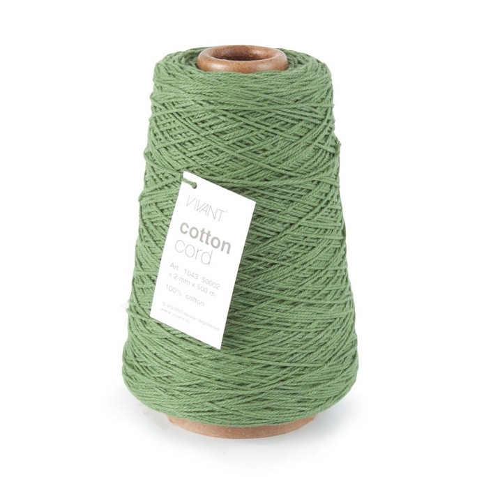 <h4>Draad Cotton Cord 2mm 500m</h4>