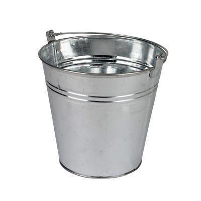 <h4>Bucket Sevilla zinc Ø9.6xH8cm - ES8.5 natural</h4>