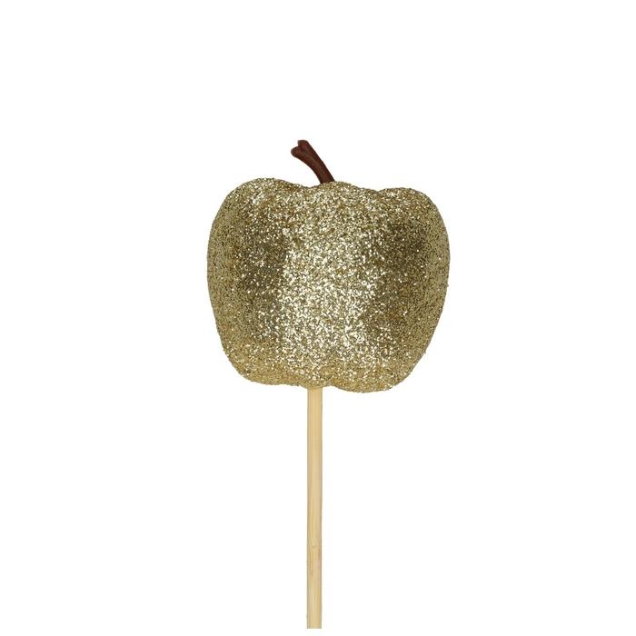 <h4>Christmas sticks 50cm Apple glitter d6cm</h4>