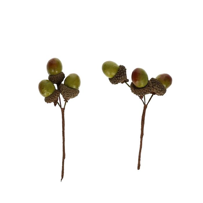 <h4>Autumn Acorns/wire d2cm x48</h4>
