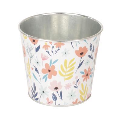 <h4>Pot Spring zinc D12,3xH10,8cm ES10,5</h4>