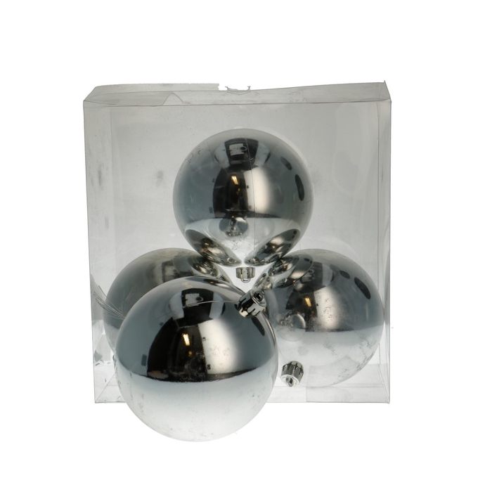 <h4>Christmas bauble Plastic d120mm</h4>