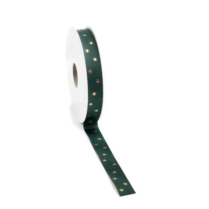 <h4>Christmas Ribbon Classic star 15mm 20m</h4>