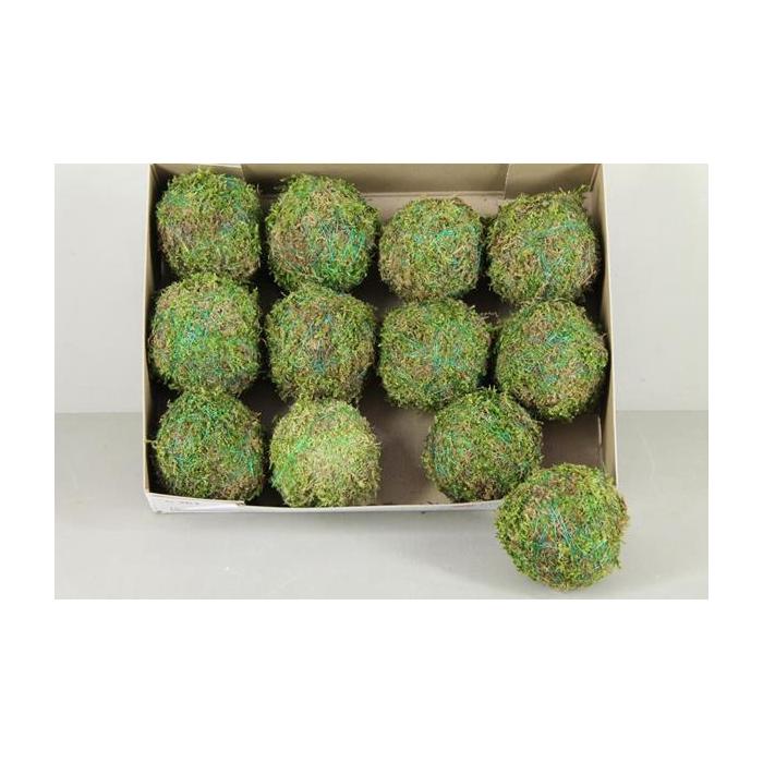 <h4>Ball Moss Green 10cm</h4>