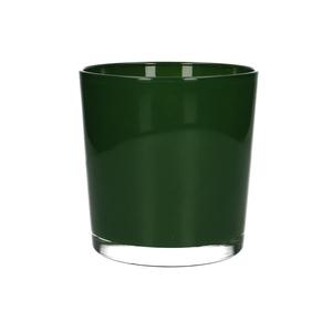 Glas kleur Pot Monaco d12*13cm