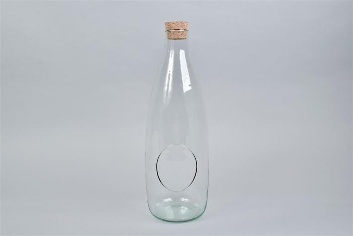 <h4>Glas Met Kurk Open 15x45cm Nm</h4>
