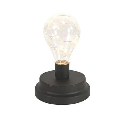 <h4>DF883822200 - Lamp Tyler black 14cm</h4>