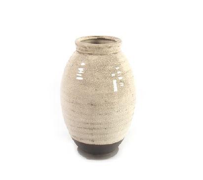 <h4>DF883822400 - Vase Roark cream 29cm</h4>