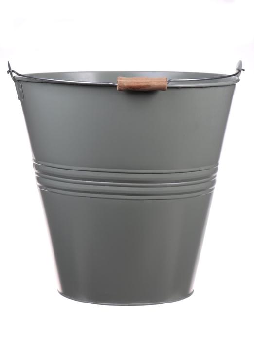 <h4>DF500064900 - Bucket Yorklyn d30.5xh30.5 jade green</h4>