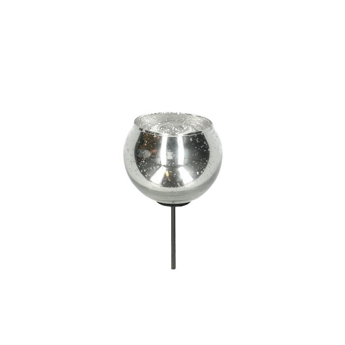 <h4>Candlelight Glass ball/pin d7/5*12cm</h4>