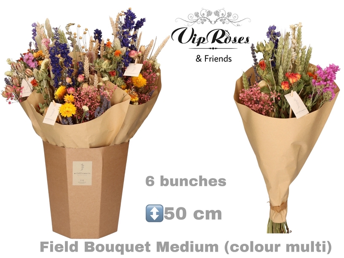 <h4>Vip Dried Bouquet Medium Multi</h4>