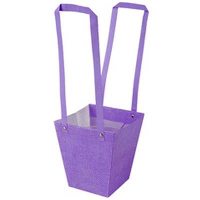 <h4>Bag Fabric PP 13x9,5xH15cm lilac</h4>