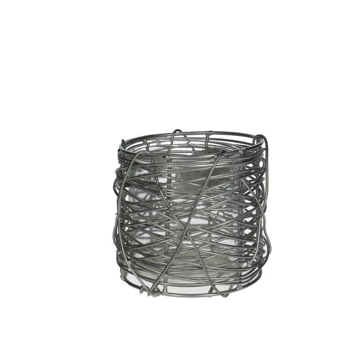 <h4>Opruiming Pot+metaal d12*11cm</h4>
