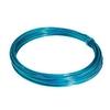 Aluminium wire turquoise - 100gr (12 mtr)