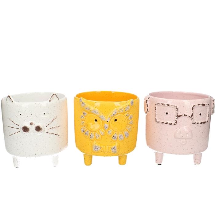 <h4>Ceramics Animal pot/feet d13*13cm</h4>