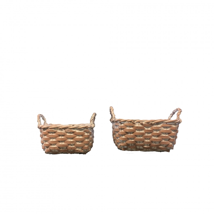 <h4>Baskets Norma tray rect.S/2 23/17*11cm</h4>