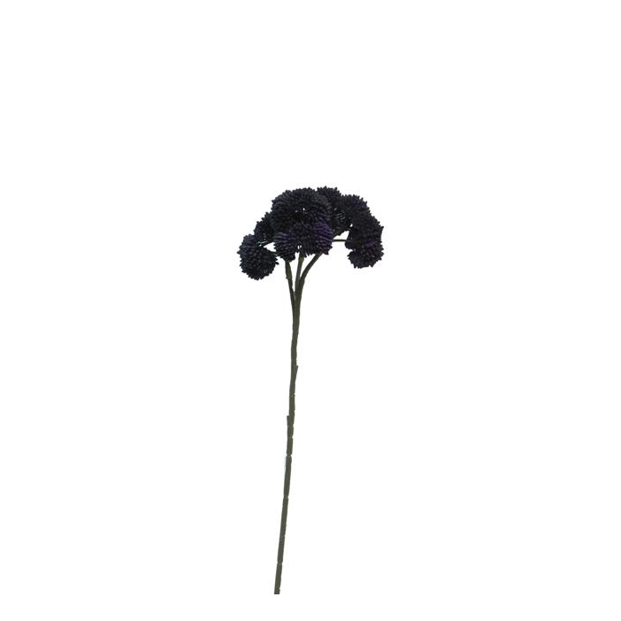 <h4>SILK FLOWERS - SEDUM FLOWER PURPLE 46CM</h4>