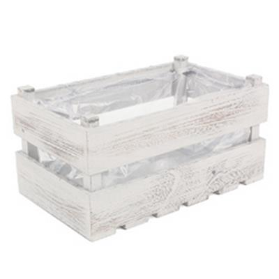 <h4>Crate Canberra wood 26,5x15,5xH14cm cream</h4>