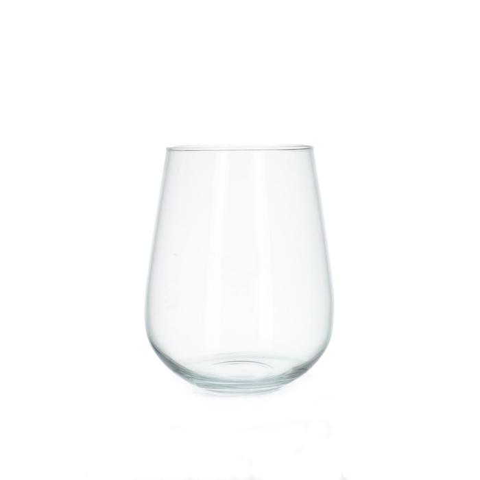 <h4>Glass Ball vase Hugo d15/19*23cm</h4>