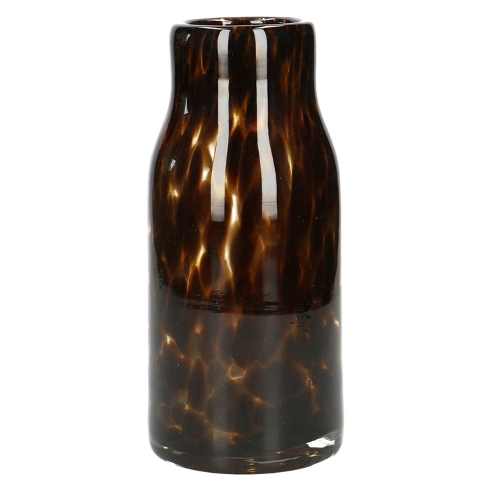 <h4>Glas Fidrio Leppard fles d4*20cm</h4>