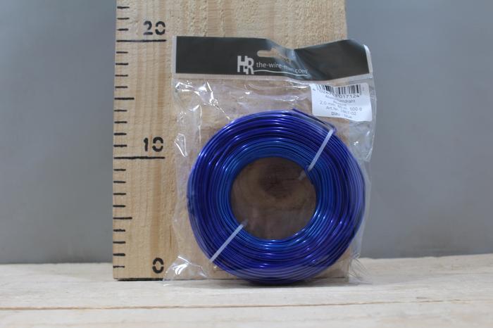 <h4>ALUMINUM WIRE BLUE 2MM 60M 500G 1867-02</h4>