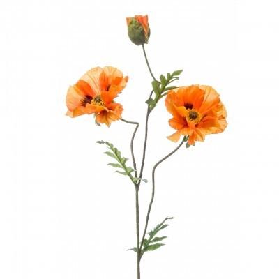 <h4>Silk Poppy spray 90cm</h4>