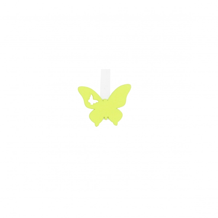 <h4>Decoratie Knijper vlinder 3*4cm x36</h4>