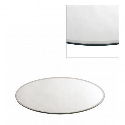 <h4>Glas kleur Bord spiegel rond d30cm</h4>