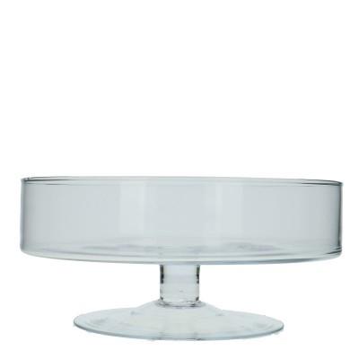 <h4>Glas Schaal/voet d29*13cm</h4>