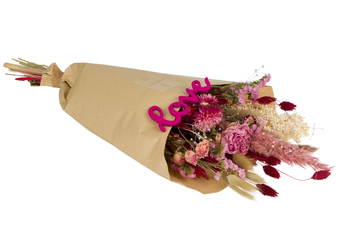 <h4>FIELD BOUQUET LARGE LOVE PINK-RED</h4>