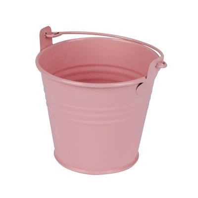 <h4>Bucket Sevilla zinc Ø9.6xH8cm - ES8.5 pink gloss</h4>