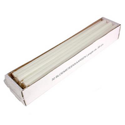 <h4>Bougies fines 14x380mm blanc - carton de 30pcs</h4>