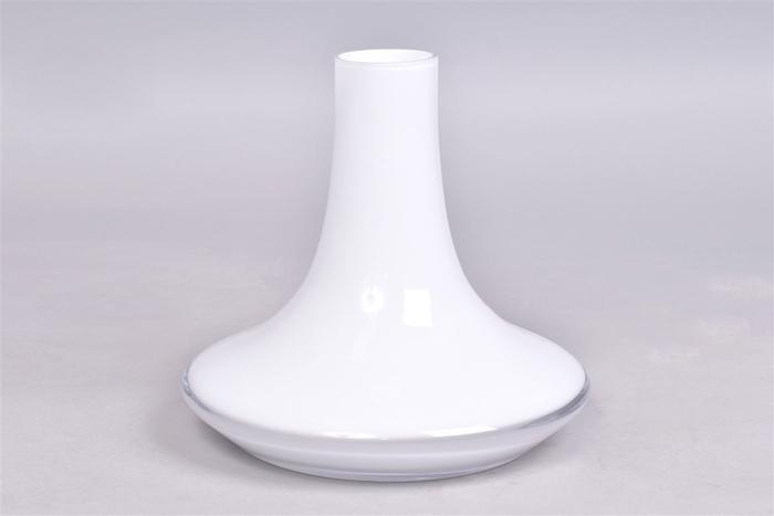 <h4>Glas Karaf Discus Opal Wit 20x19cm</h4>