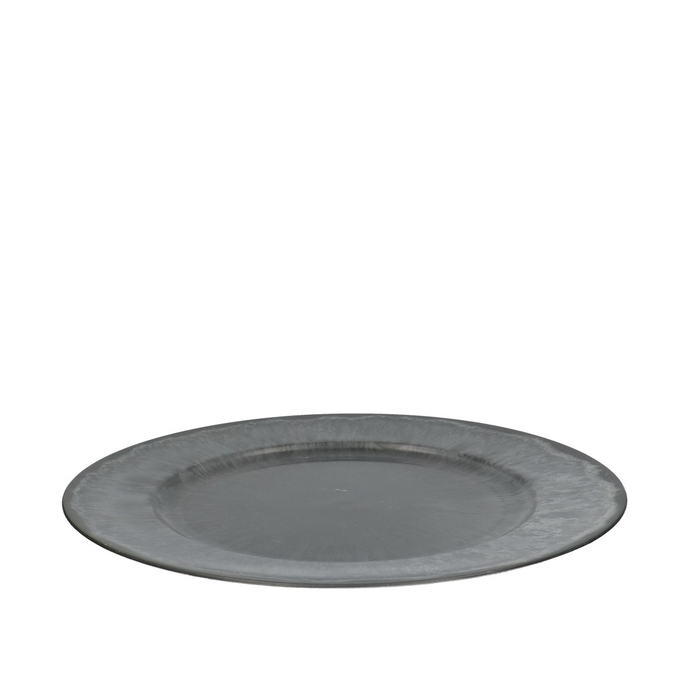 <h4>Plastic Melam Plate d33cm</h4>