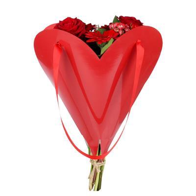 <h4>Bag Loving Heart carton 33xH35cmm red FSC</h4>